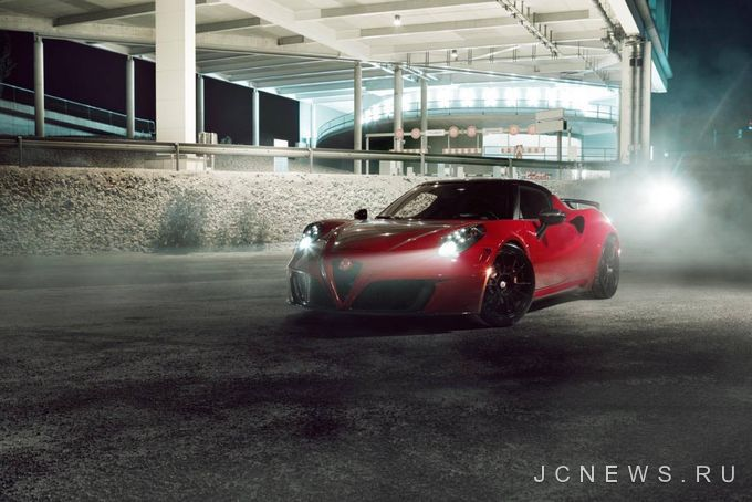 Alfa Romeo 4C от Pogea Racing